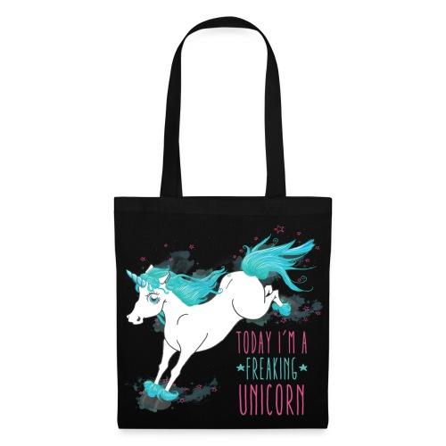 Freaking Unicorn Tasche - Stoffbeutel