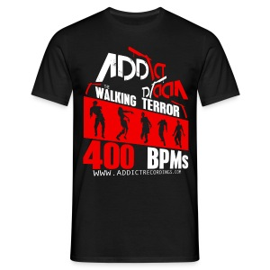 ADDICT WALKING 03 [M-PHK069]  - Men's T-Shirt