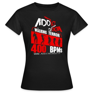 ADDICT WALKING 04 - WOMAN [M-PHK070]  - Women's T-Shirt