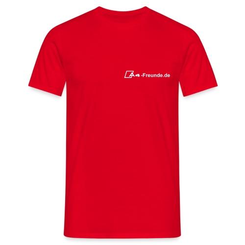 T-Shirt -rot- - Männer T-Shirt