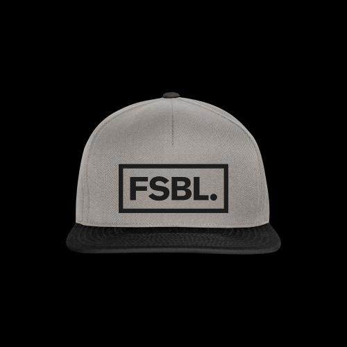 Original FSBL. Snapback - Grey/Black - Metall Black - Snapback Cap