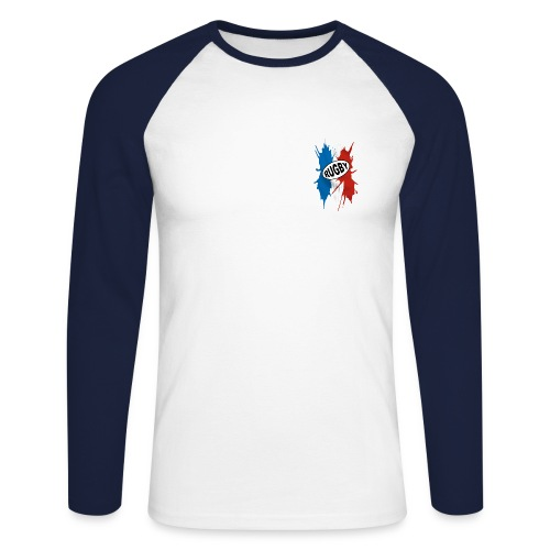 Tee-shirt manche longue Rugby - T-shirt baseball manches longues Homme