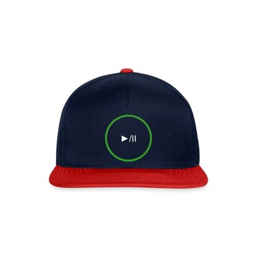 P Art Play Button  - Snapback Cap