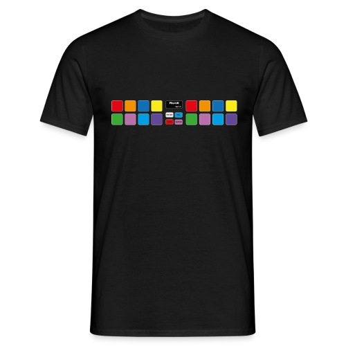 P Art Mixer Pads - Men's T-Shirt