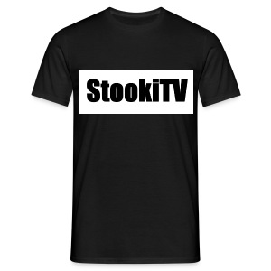 StookiTV | BLACK & White - Men's T-Shirt