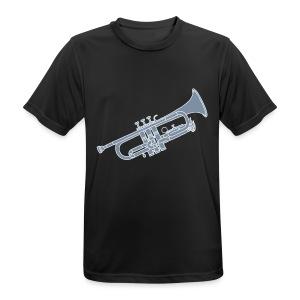 Trompete Blechblasinstrument 2 - Männer T-Shirt atmungsaktiv