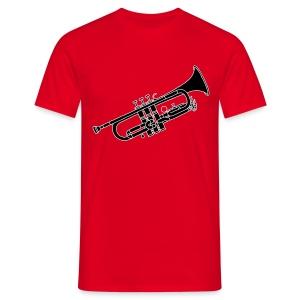 Trompete Blechblasinstrument 2 - Männer T-Shirt