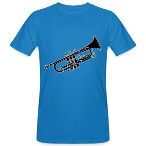 Trompete Blechblasinstrument 2 - Männer Bio-T-Shirt