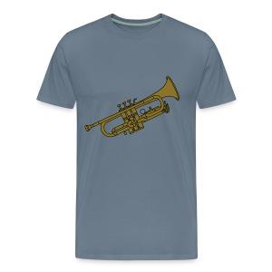 Trompete Blechblasinstrument 2 - Männer Premium T-Shirt