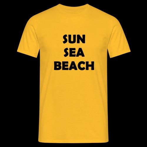 Sun Sea Beach - T-Shirt Men - T-shirt Homme