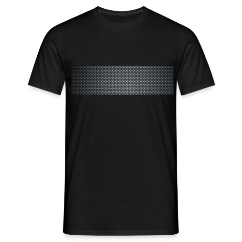 Carbon fiber - T-shirt herr