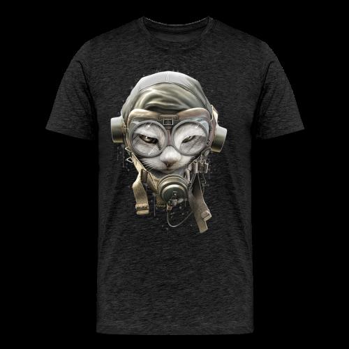 Kitten pilot - Men's Premium T-Shirt