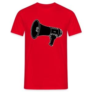 Megafon / Megaphon 2 - Männer T-Shirt