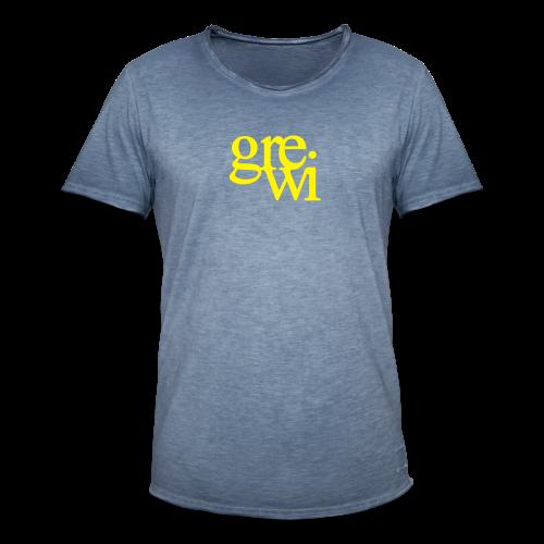GreWi_ManTwide_0 - Männer Vintage T-Shirt