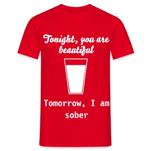 Beautiful tonight - Men's T-Shirt