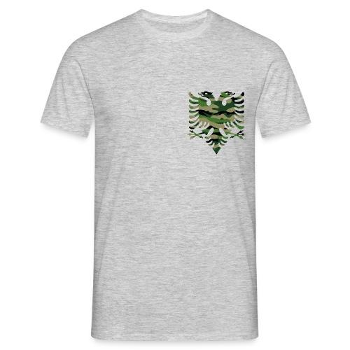 Petit aigle bicéphale camouflage - T-shirt Homme