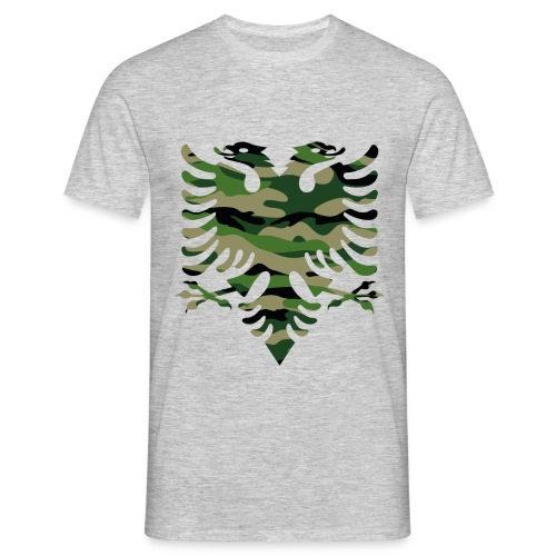 Grande aigle bicéphale camouflage - T-shirt Homme
