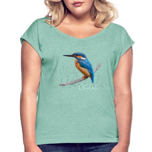 Chilali - Frauen T-Shirt mit gerollten Ärmeln