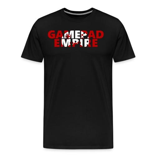 T-Shirt (Männer) mit Schriftzug und Logo - Männer Premium T-Shirt
