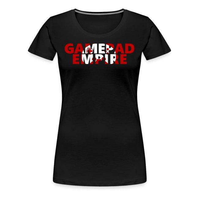 T-Shirt (Frauen) mit Schriftzug und Logo