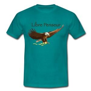 Tee Shirt Coupe Classique Homme Nuréa : Libre Penseur - T-shirt Homme