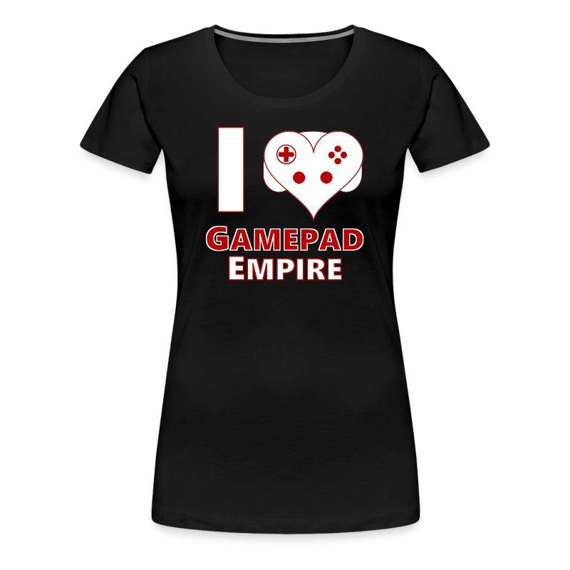 T-Shirt (Frauen) mit I ♥ GPE-Design - Frauen Premium T-Shirt