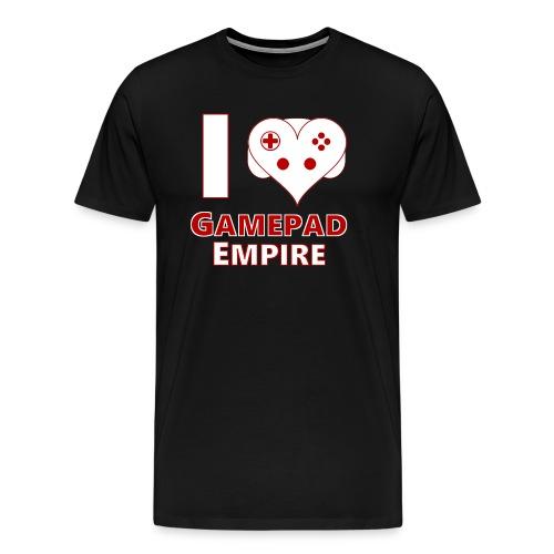T-Shirt (Männer) mit I ♥ GPE-Design - Männer Premium T-Shirt