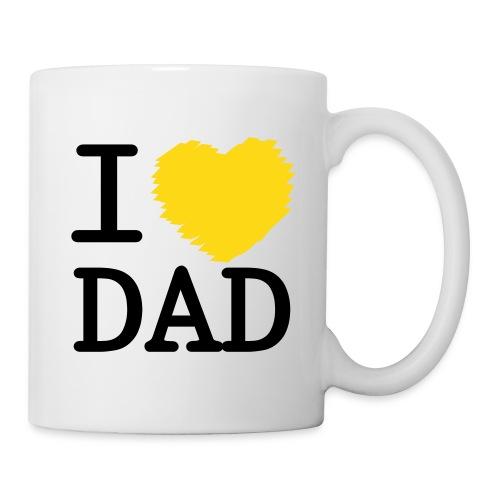 Lillian's dad mug yellow - Mug