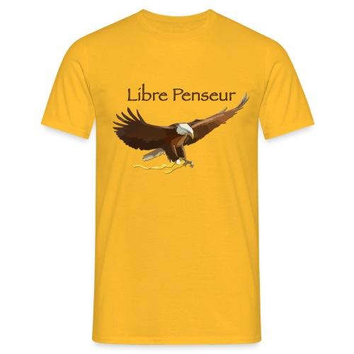 T-shirt Homme Nuréa : Libre Penseur  - T-shirt Homme