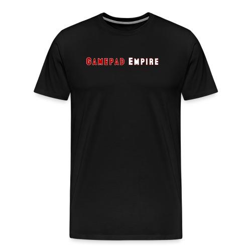 T-Shirt (Männer) mit Schriftzug - Männer Premium T-Shirt