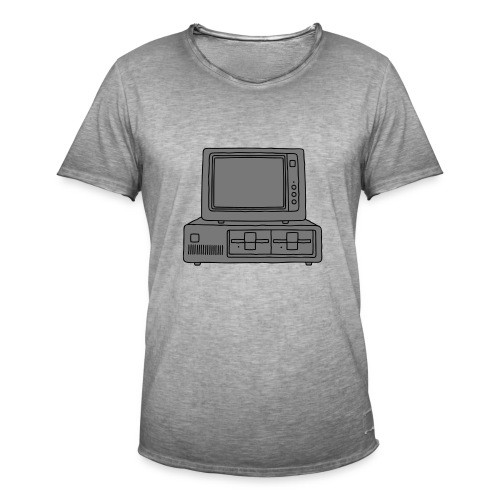 Computer PC 2 - Männer Vintage T-Shirt