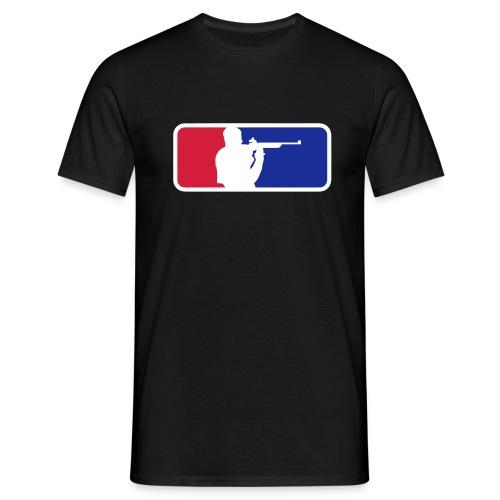 Schietsport Kleur Flex - Mannen T-shirt