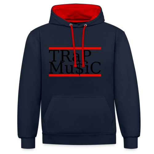 TRaP Mu$iC - Sweat-shirt contraste