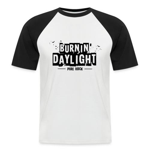 BURNIN DAYLIGHT - Mannen baseballshirt korte mouw