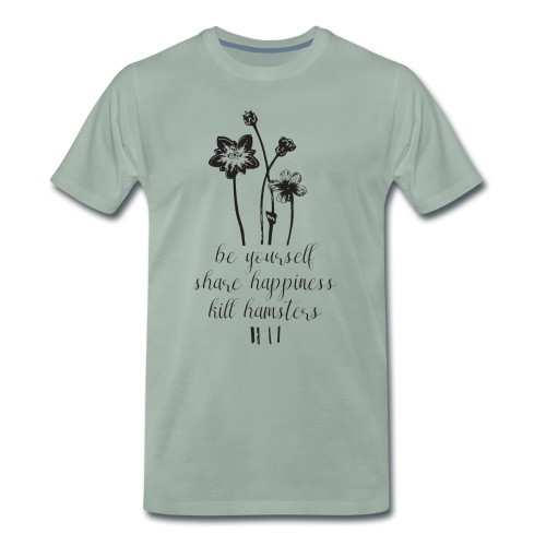 Kill hamsters mannen premium - Mannen Premium T-shirt