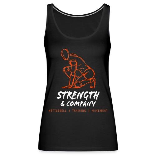 STRENGTH & Company_women tank top black - Vrouwen Premium tank top