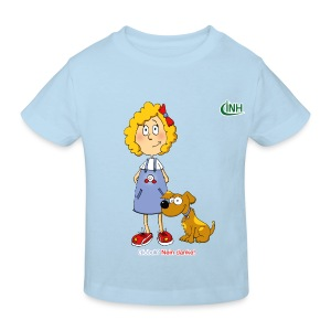 Bio-Kindershirt Susannchen&Bello - Kinder Bio-T-Shirt