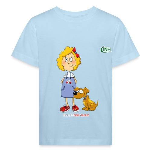 Bio-Kindershirt Susannchen&Bello - Kinder Bio-T-Shirt