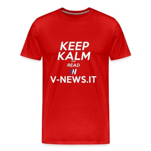 Keep Calm VN - Maglietta Premium da uomo