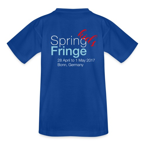 Spring Fringe Kids (small sizes) - Kinder T-Shirt