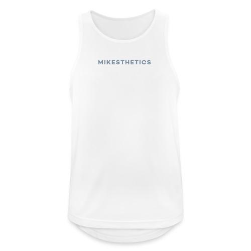 ME Mens Performance Shirt white/silver metallic - Männer Tank Top atmungsaktiv