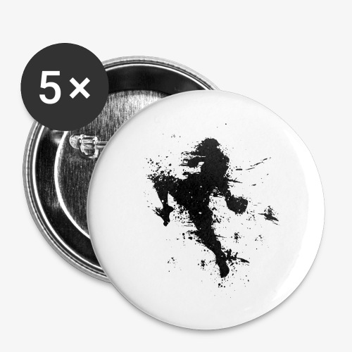 Button 25 mm Flying Knee - Buttons klein 25 mm
