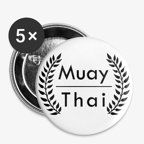 Button 56 mm Muay Thai - Buttons groß 56 mm