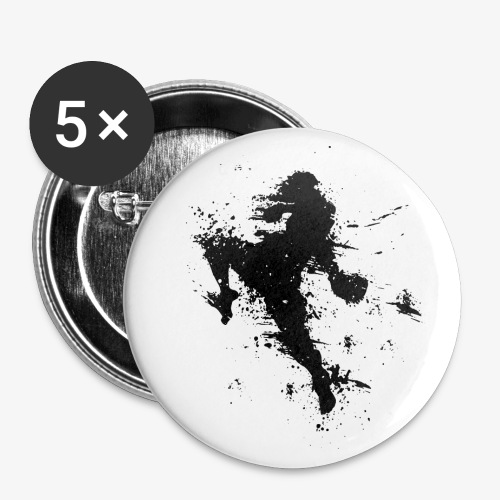 Button 56 mm Flying Knee - Buttons groß 56 mm