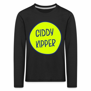 Giddy Kipper Children's Long Sleeve T-Shirt - Kids' Premium Longsleeve Shirt