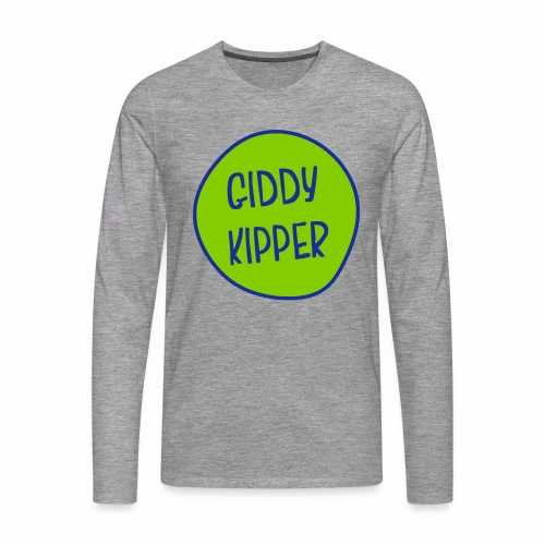 Giddy Kipper Men's Long Sleeve T-Shirt - Men's Premium Longsleeve Shirt