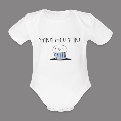 Muffin Boy - Babybody - Baby Bio-Kurzarm-Body
