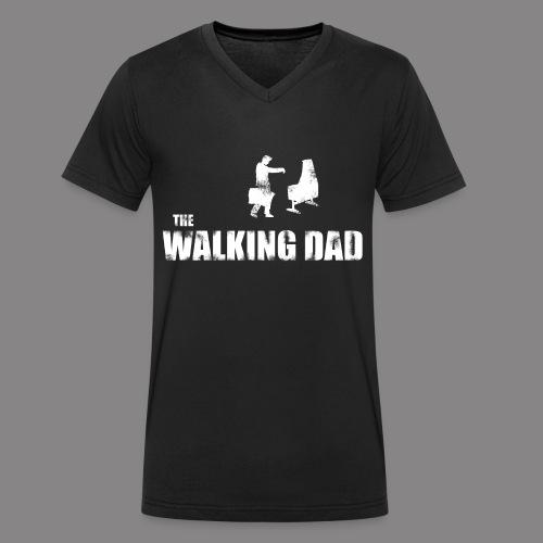 The Walking DAD - V-Ausschnitt  - Männer Bio-T-Shirt mit V-Ausschnitt von Stanley & Stella