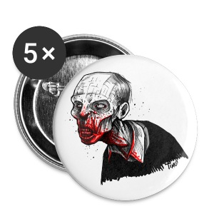 Zombie Button - Buttons klein 25 mm