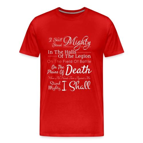Legion Motto - Dragon Knight - Men's Premium T-Shirt